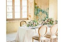 Wedding Inspiration / The prettiest of details for your wedding from table settings to favors, decorations, place settings, signage, staationery...