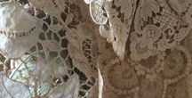 Vintage Lace / There is nothing quite like the delicay and detail of vintage lace...holding within it secrets of years gone by