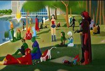 Fan Art / Collection of geektastic fan art!