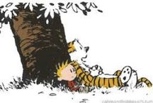 Calvin and Hobbes / I go to school, but I never learn what I want to know. Calvin & Hobbes / by Angie Erwin