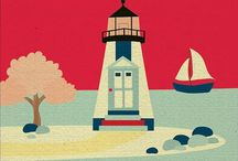 Lighthouses! / I am lighthouse rather than lifeboat. I do not rescue, but instead help others to find their own way to shore, guiding them by my own example. / by Angie Erwin