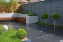 Slate Paving / Slate paving is a great way to integrate natural stone into your design