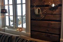 Cabinlife / Tømmerhytte på fjellet.