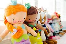 cuddle+kind dolls / We obsess over every detail of our dolls! From making sure every doll design is stylish and uber-adorable, to insisting on the finest cotton yarns, a very high stitch count and premium hand-embroidered details, every cuddle+kind doll is a labor of love from start to finish.