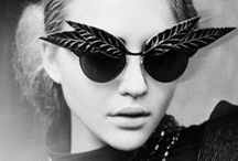 Sunglasses / The sun is a wonderful thing not least because it gives us an excuse to wear a beautiful accessory.