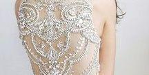 Beading / Beautiful bridal beading