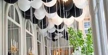 Monochrome Weddings / Inspiration for those of you choosing the monochrome route for you wedding plans