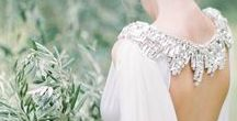 Elegant Simplicity / Beautiful elegant wedding dresses with the emphasis on less is more