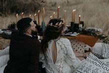 Wedding / Earthy tones, outdoor, dreams, candles