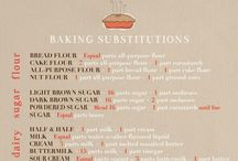 Baking Guides & Measurement Charts / by Tina Campanale
