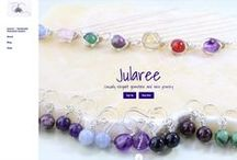 Jularee's Gemstone Jewelry / I love casually elegant jewelry and a minimalist but classy style. Some days I feel a bit bohemian, rustic, or earthy... Always I want to be different. http://www.Jularee.etsy.com