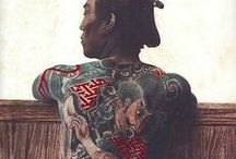 Love to the Art of the Japanese tattoes