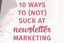 Email Marketing / You can make more money if you use smart email strategies. Learn about list building, opt-ins, Mailchimp, and so much more.