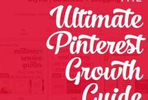 Pinterest / How to grow your Pinterest following and use this social network to build your blog + brand.