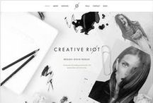 Web Design / Beautiful website and blog designs.