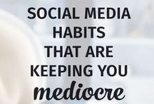 Social Media / Social media marketing tips + advice for entrepreneurs, bloggers, freelancers, and small business owners.