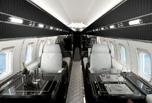 Ideas | Private Jets / Intended as a tool to assist and inspire clients and design partners