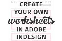 Tutorials: Software + Design / Tutorials to help you master Photoshop, Lightroom, Illustrator, InDesign, Pages, and other software you use in business and blogging.