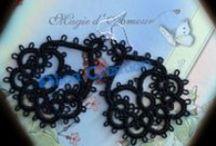 Le mie creazioni! Chiacchierino/Tatting Crochet/Uncinetto / Tutto quello che sto creando a chiacchierino e uncinetto :P