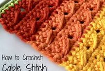 Punti uncinetto  - Crochet - Stitches & Techniques & Tools - tecnica - Tecnique / by Alice Franceschetti