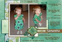 Scrapbooking 8.5x11 - #2 / More 8.5x11 layouts or adaptable layouts. / by Nylene Budge