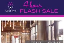 Happenings / Events on the Avenue are always fun at West Ave Houston! Whether its a sale, a food event or a fashion show...guests are always treated to a great time in a luxury setting.