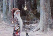 Joulunaikaa / Ideoita Jouluun; kodin-, kuusen-, ja pihan,-koristelu. Reseptejä joulun ruokiin, kortti-ideoita...