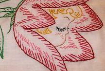 embroidery & kanzashi