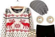 Zimowe inspiracje / Jak ubierać się modnie zimą 2014/2015? Jaką torebkę dobrać w tym sezonie? Ta tablica to duuuuża dawka zimowych pięknych inspiracji <3