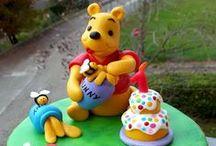 Cake topper in pasta di mais bambini / Cake topper in pasta di mais per decorare torte e festeggiare i vostri lieti eventi <3