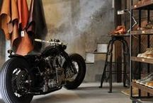 Caferacer Shop / Interior design, custom motorbikes, riding gear,  apperal, helmets - everything cool