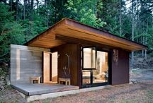 Small Living / Small spaces - Tiny houses, cottages, tree houses, cabins and beach houses.