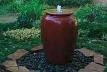 Water features / Nothing beats the sight and sound of water to create a relaxing atmosphere.