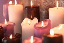 Light my way - Kaarsen / Wie wordt hier nu niet warm van ? :)