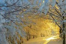 On aime l'hiver! / Laissez-vous inspirer par ces paysages enneigés, les moments de détente et nos produits coups de coeur pour un hiver en beauté.
