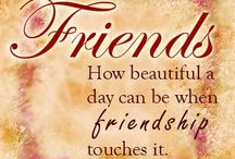Friends & Family / A little tribute to friendship: family & friends including some unlikely friends:) I thank God for my family & friends - I am truly grateful.  I love you xox.  / by Carolyn Williams