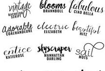 Web / Fonts