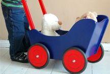 Pushcarts/Small Doll Prams / Pushcarts and Doll Prams for toddlers