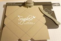 for Punch Boards / inspiration for the gift bag punch board or envelope punch board