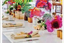 Pöydän kattaminen - Det dukade bordet