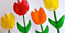 Spring / Crafts and Activities for Kids: St. Patrick's Day, Earth Day, Easter, Mother's Day