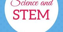 Science & STEM Activities / Science Experiments and STEM Activities for families, homeschoolers, and teachers