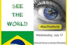 #SeeTheWorld TwitterChat / Do you have a deep curiosity and/or blazing passion for other cultures? If the answer is yes, then you won't want to miss the new #SeeTheWorld chat on Twitter, as we all know there is much more to a country than famous landmarks and clichéd itineraries! Join @TheCultureur and @RovingAltruist every Wednesday at 12pPST (noon) as we explore new destinations each week by taking a 360* approach to stimulate discussion on all things related to travel, culture, lifestyle, and food.
