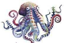 Tentacle_Phile / Octopuses live just 3-5 years, a fact that limits their abilities of accumulating information. Many believe that if octopuses live longer, they would be the dominant intelligence on Earth.