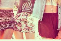 Fashion ˚skirts˚ / I wish I had this wardrobe! Casual, fancy, party and streatstyle.