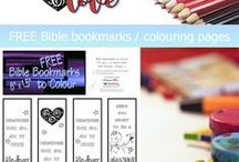 FREE Bible Colouring Pages / Free printable Bible colouring pages for kids