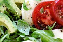 Vegetarian delights! / No meat here!