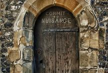 Doorways, Arches, Knock Knock...come inside and have a wee peek... / Open up a beautiful world...