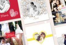 Cartes remerciements mariage / Le plus beau jour de votre vie est désormais passé, vos invités ont largement contribué à de ce que ce jour soit inoubliable. Il est donc important de leur envoyer une petite carte de remerciements. Nous proposons un large choix de cartes à personnaliser en ligne.