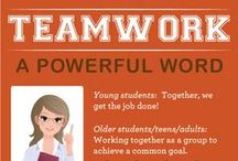 Teamwork! / How to help your child work together with others!